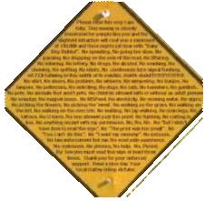 Example of Bad Signage