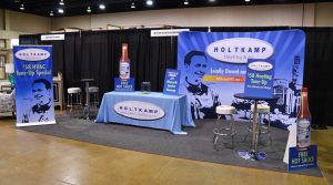 Holtkamp Custom Trade Show Display