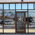Woodland Park Window Signs Copy of Chiropractic Office Window Decals 150x150