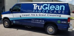 Elmwood Park Vinyl Printing Vehicle Wrap Tru Clean 300x146